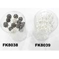 wholesale bridal wedding crystal stone flower hair pins 8