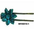 fashion women crystal stone u shaped metal hair clips 3