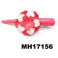 resin flower beak concord hair clips