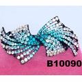 fashion women glitter crystal stone hair barrette