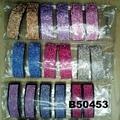 fashion women glitter crystal stone plastic hair barrettes wholesale 5