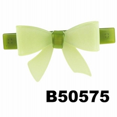 fashion kids girls bowknot bow plastic hair french barrette clips wholesale