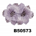 fashion kids girls bowknot bow plastic hair french barrette clips wholesale 3