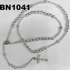 plastic beaded cross necklaces wholesale