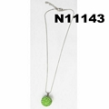 fashion girls crystal ball pendant necklaces wholesale