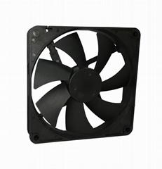 DC 140x140x25mm Brushless  Cooling Fan Axial Fan