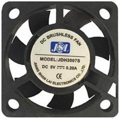 5V/12V factory direct supply plastic DC  Axial Fan JSL3007