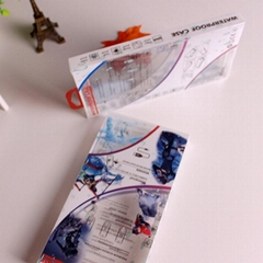 工廠定製PET數據線膠盒採用柯式UV印刷全國包郵