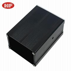 High performance Customized Extruded aluminium profile Project Box