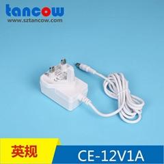 12V1A电源适配器CE GS认证 61347标准