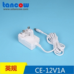 12V1A電源適配器CE GS認証 61347標準