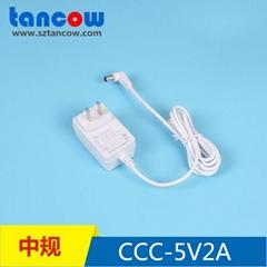 5V2A电源适配器 3C认证4076家电标准5V2A电源适配器