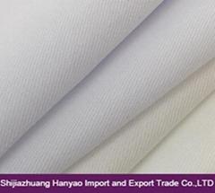 Twill Dyed Woven Fabric CVC 60/40 32x32 130x70 for Workwear Uniform