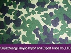 Camouflage Woven Fabric Waterproof T/C 80x20 21+21x10 139x39 for Military
