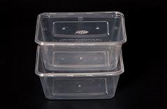 Microwave safe plastic rectangle box 1000ml