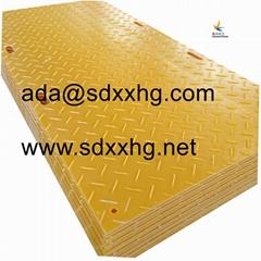 heavy duty loading capacity composite pe plastic 2 inch thick mats plastic