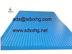 hdpe composite swamp mats portable event flooring  industrial plastic