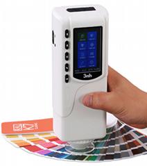 3nh三恩驰油漆涂料NR110高精度色差仪NR110分光测色仪SC10色差计