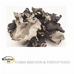 Dried black mushroom Whole