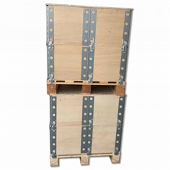 collapsible wooden crates