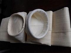 泊头优质耐高温氟美斯除尘布袋供应