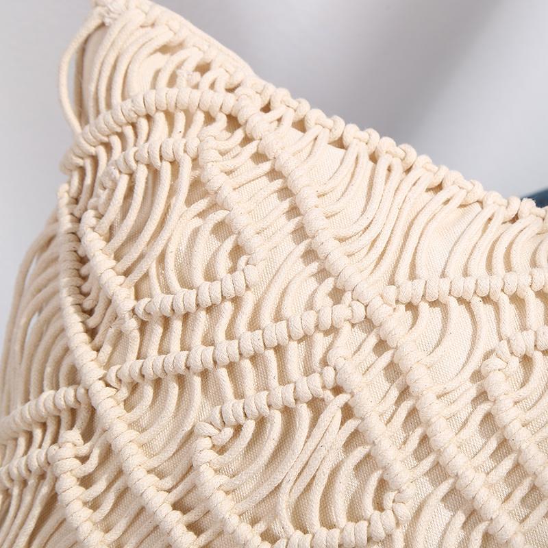 手工編織抱枕 2