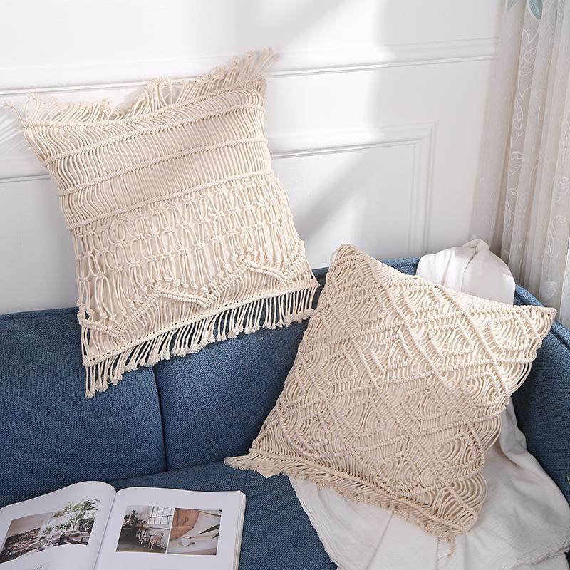 手工編織抱枕 1