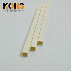电晕电极专用方管995高纯氧化铝材质耐高温可定制