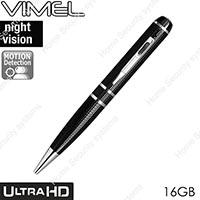 High Quality Pen Camera 16 GB Ultra XHD Video 2K 1296P Body Cam NO SPY Hidden