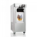 CE Approved Rainbow Vertical Soft Ice Cream Maker 1