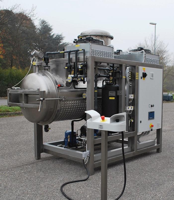 污水蒸馏处理设备 低温蒸发器 1