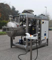 污水蒸餾處理設備 低溫蒸發器
