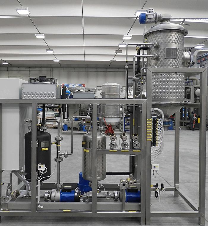 污水蒸馏处理设备 低温蒸发器 2