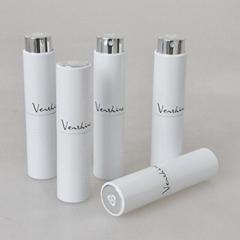 logo printed glass fine mist spray bottle for perfume