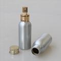 hot selling 50ml perfume spray aluminum bottle with sprayer 2