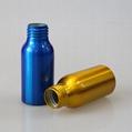 hot selling 50ml perfume spray aluminum bottle with sprayer 3