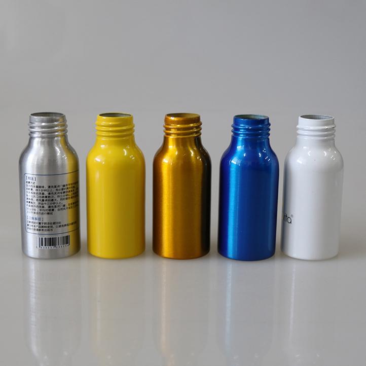 hot selling 50ml perfume spray aluminum bottle with sprayer 4
