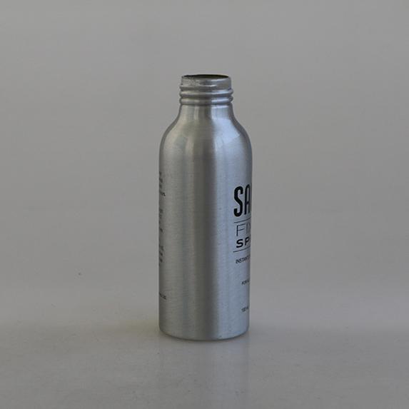 hot selling 50ml perfume spray aluminum bottle with sprayer 5