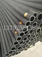 水利工程改造专用高压吸水排泥抽沙橡胶钢丝管