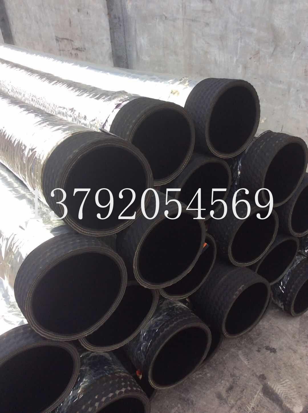 16寸疏浚抗旱專用吸水抽沙橡膠鋼絲管 1
