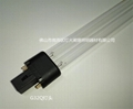 H Shaped 254NM Hot Cathode 2Pins 9W UV Germicidal Lamp with G23 Base 5