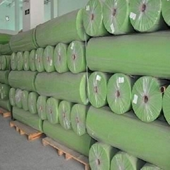 PE film laminated Viscose