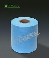 Crepe paper film