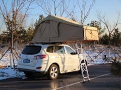 Playdo soft shell car roof tent