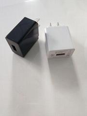 5V1A USB充电器 过CE ROHS PSE UL FCC CUL CCC认证