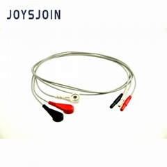 Holter DIN ECG cable 1.5mm/2.0mm