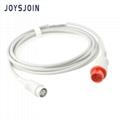 Mindray-Mindray IBP cable 12pin 4 plug