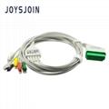 Nihon Kohden  ecg cable 5 leads 13pin