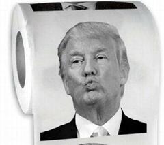 3ply donald trump toilet paper napkin tissue paper jumbo roll newsprint paper ro