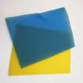 Multi-color filter sponge purification